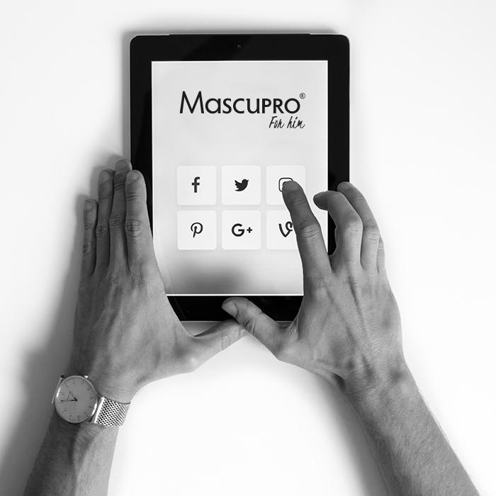 MascuPRO® auf dem Tablet