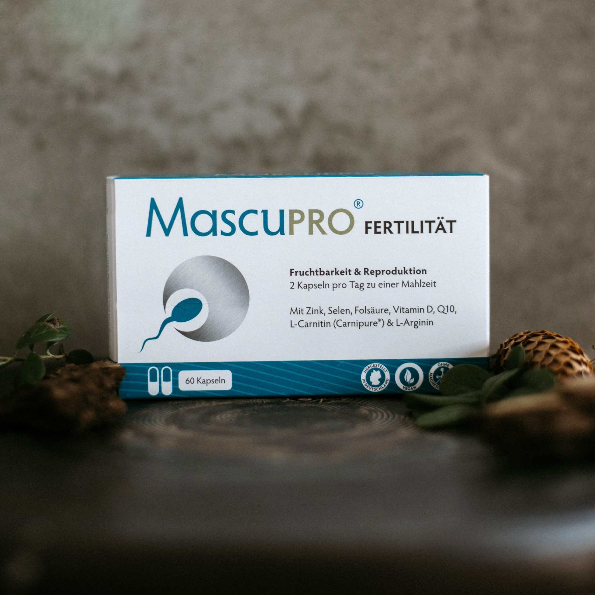 MascuPRO® Fertilität mit 60 Kapseln